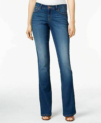Style & Co Womes 4 T/L Low Rise Curvy Boot Cut Blue Jeans New With Tags *d 4t Jeans