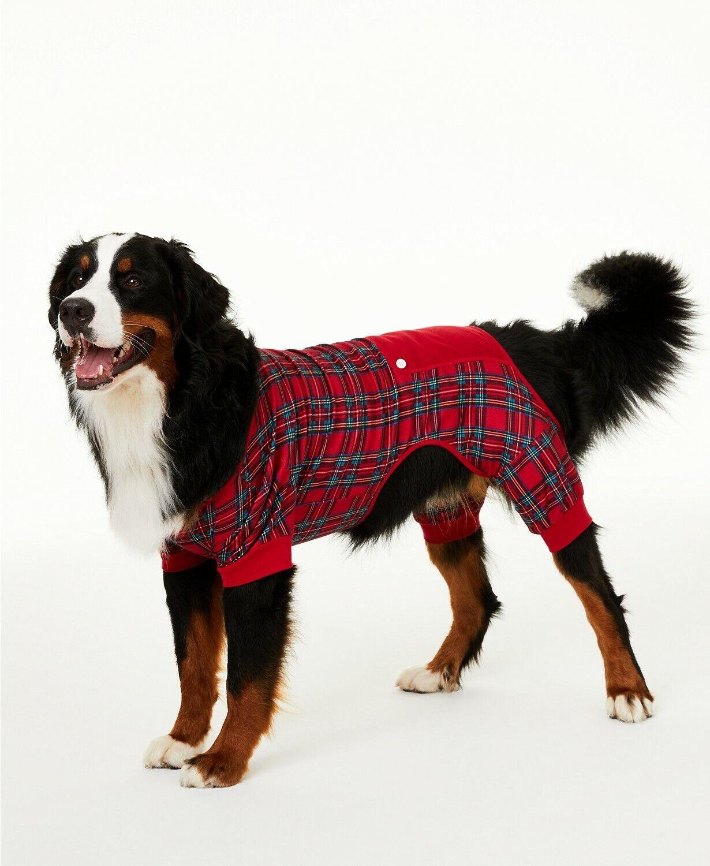 Matching Family Pajamas Brinkley Plaid Christmas Dog-Pet Paj