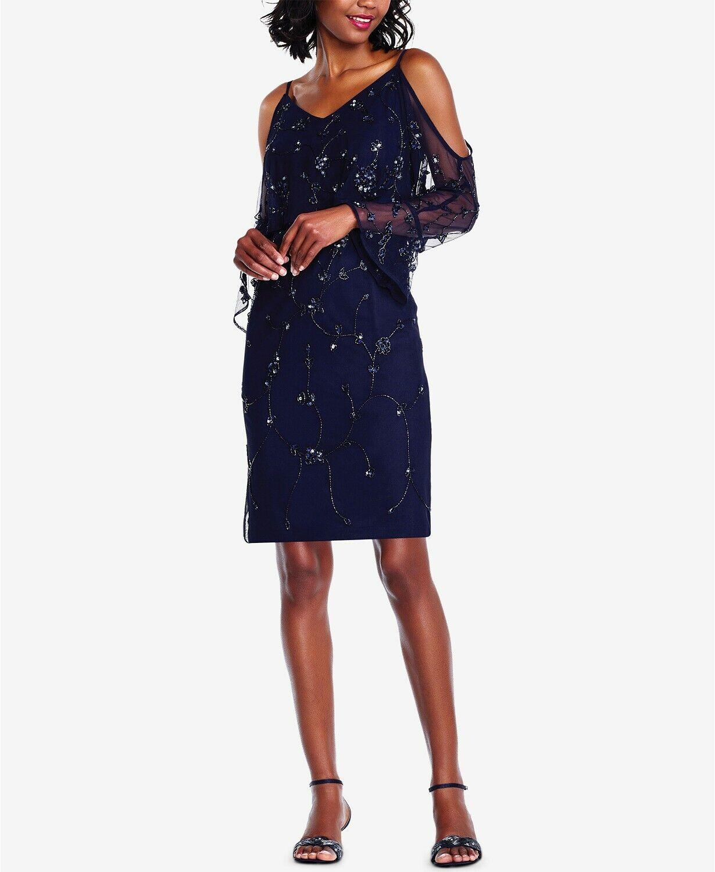 Kensie Womens Chiffon Strappy Mini Casual Dress BHFO 8726