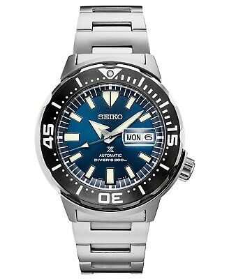 New Seiko SRPD25 Automatic Prospex Monster Stainless Steel Divers 200M Watch