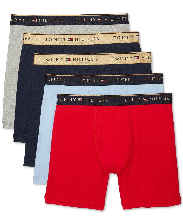 Tommy Hilfiger Men/'s Variety Design Cotton Boxer Short $0 Free Ship