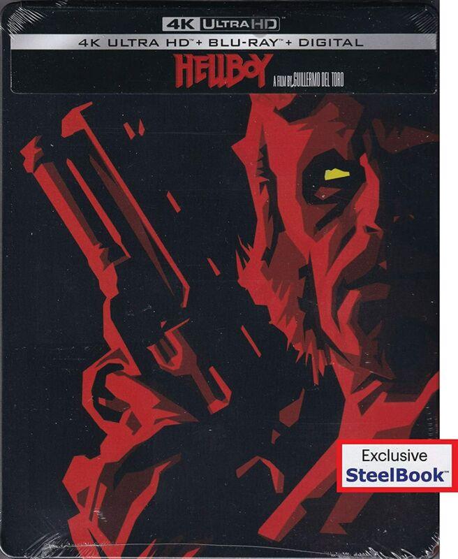 New Steelbook Hellboy (4K / Blu-ray + Digital)