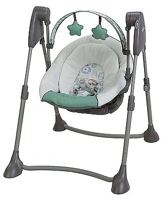 Graco Swing By Me Portable Multiple Baby Swing in Cleo Brand New! Free Shipping!