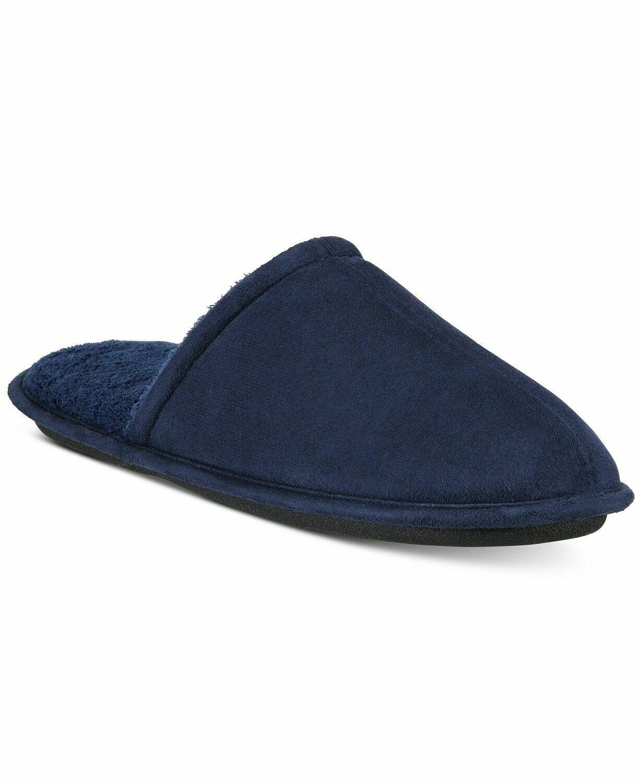 men s slide slippers navy medium 8