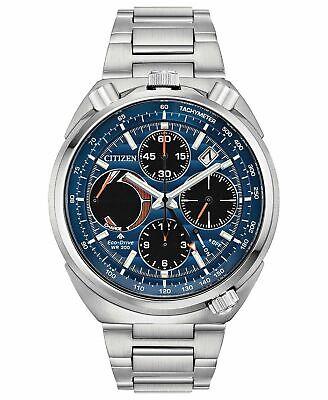 Citizen Men's Eco-Drive Tsuno Chronograph Stainless Steel Watch AV0070-57L