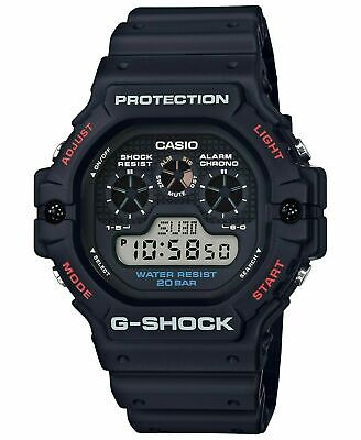NEW Casio G-Shock Water Resistant Digital Black Dial Men's Watch DW-5900-1CR