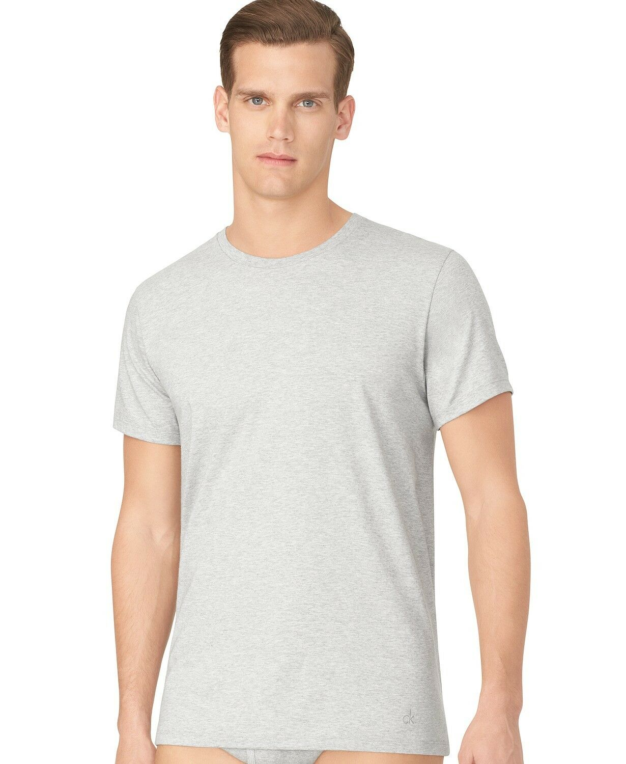 Three (3) Pack NEW Calvin Klein Men's Stretch Cotton V-Neck OR Crew Neck T-Shirt