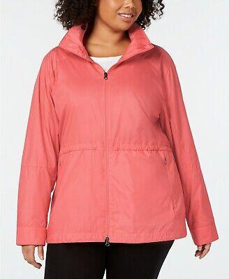 COLUMBIA Womens Plus Size Sustina Springs Jacket windbreaker Rain cats coat 2xl 2x