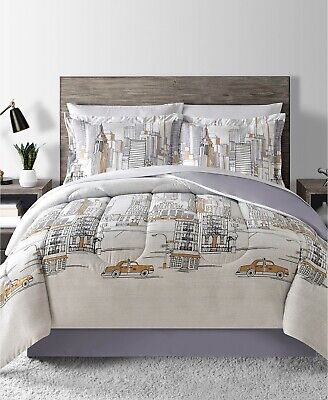 Fairfield Square 6-Piece TWIN Comforter Set New York B99351