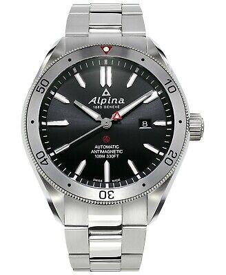 Alpina Alpiner 4 Automatic Black Dial Stainless Steel Men's Watch AL-525BS5AQ6B