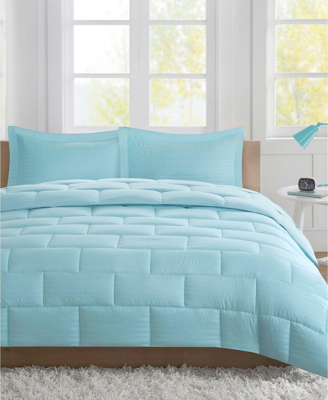 Intelligent Design Avery Seersucker Down Alternative Comfort