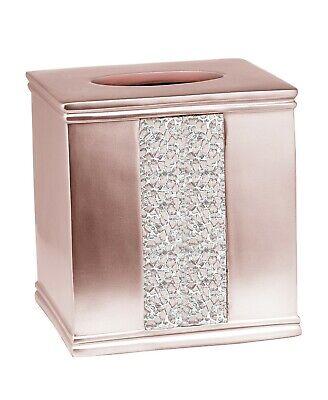 "Popular Bath Sinatra Blush Bath Accessories Tissue Box - 6""H x 6""W x 6""D"