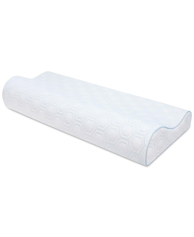 SensorGel Memory Foam KING Contour Pillow Luxury Gel-Infused
