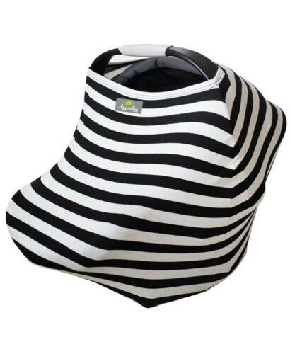 Itzy Ritzy Mom Boss 4in1 Nursing Cover - Black/White Stripe