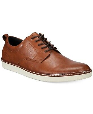 Alfani Mens Billy Lace Up Casual Oxfords, Tan, Size 9.5 R6p8