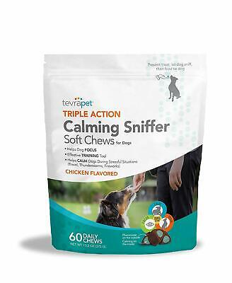 Dog Calming Treats. Provides Dog Anxiety Relief, Reduces Stress, and Calming Aid