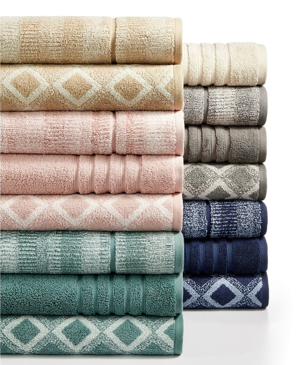 Hotel Collection 3 Piece Towel Set Ultimate MicroCotton Abso