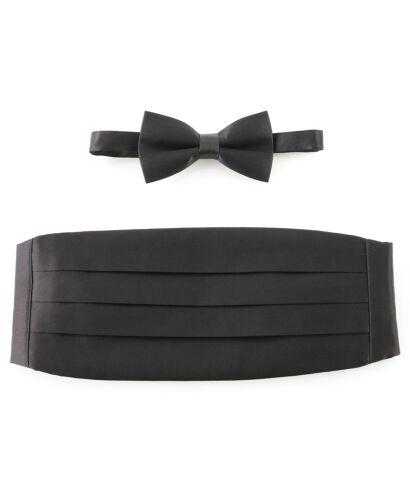 $75 Michelsons of London Bow Tie & Cummerbund Set