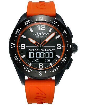 Alpina AlpinerX HSW Pro Digital Analog Hybrid Men's Smartwatch AL-283LBO5AQ6