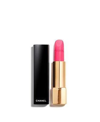 CHANEL ROUGE ALLURE VELVET Luminous Matte Lip Colour 42 L'Eclatante 💋NEW BOX💋