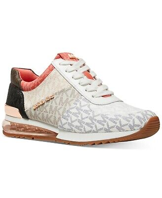 Michael KORS ALLIE EXTREME MK PRINT MIX MEDIA AMAZING Sneakers I LOVE SHOES