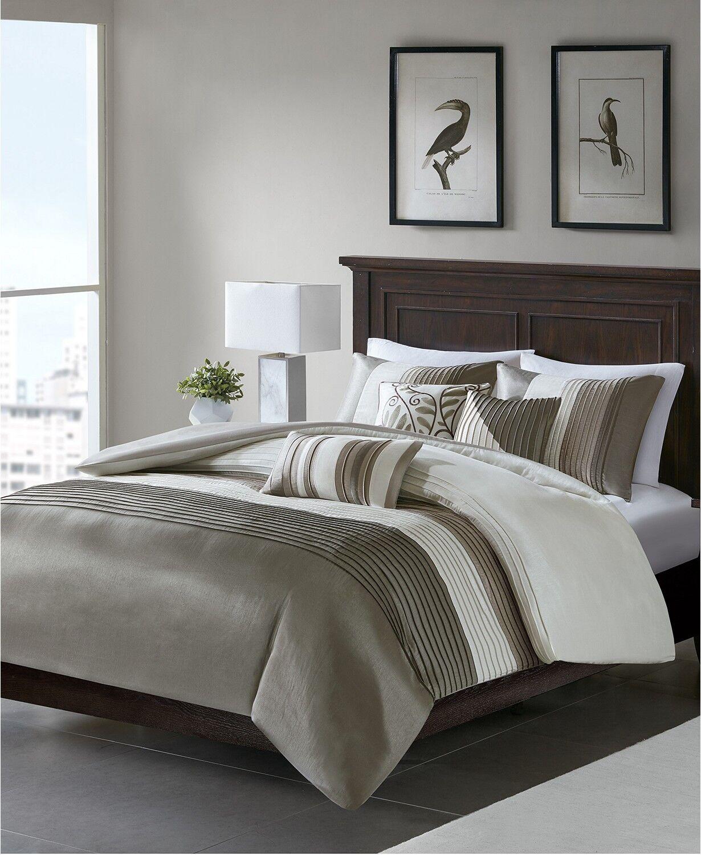Comforter Set 7 Piece Madison Park Amherst Bedding Set Calif