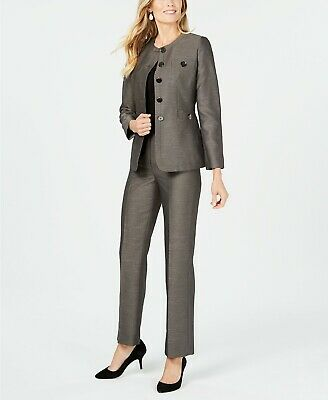 Le Suit Five-Button Pantsuit MSRP $240 Size 10 # 10A 1035 NEW