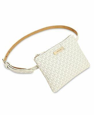 Michael Kors Signature Women's Fanny Pack / Bum Bag / Belt Bag - Vanilla / Acorn
