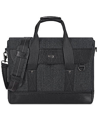 Solo Executive Carrying Case  for 15.6 Notebook - Black, Gra