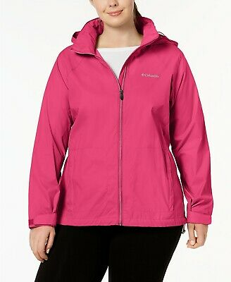COLUMBIA Womens Plus Size Switchback III Jacket windbreaker precipitation coat 3xl 3x
