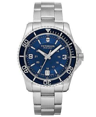 Victorinox Swiss Army Watch, Men's Maverick GS Stainless Steel Bracelet 43mm