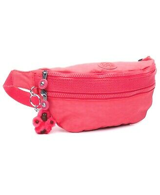 New Kipling Yasemina Fanny Pack Waist Bag Nwt AC7992 Grapefruit OrangePink Tonal