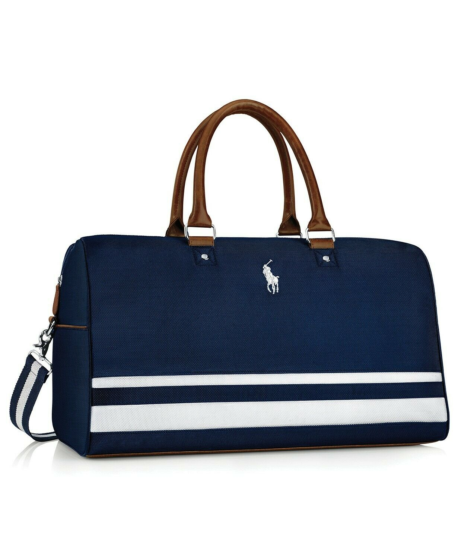 RALPH LAUREN polo fragrances blue duffle weekender carry on