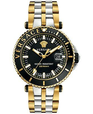 Versace V-Race Men's Watch VAK040016 100% Authentic