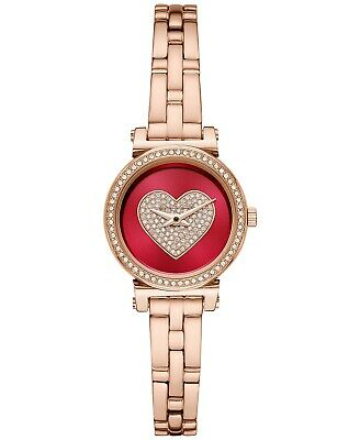 Michael Kors Women's Petite Sofie Rose Gold-Tone Stainless Steel Watch MK4488