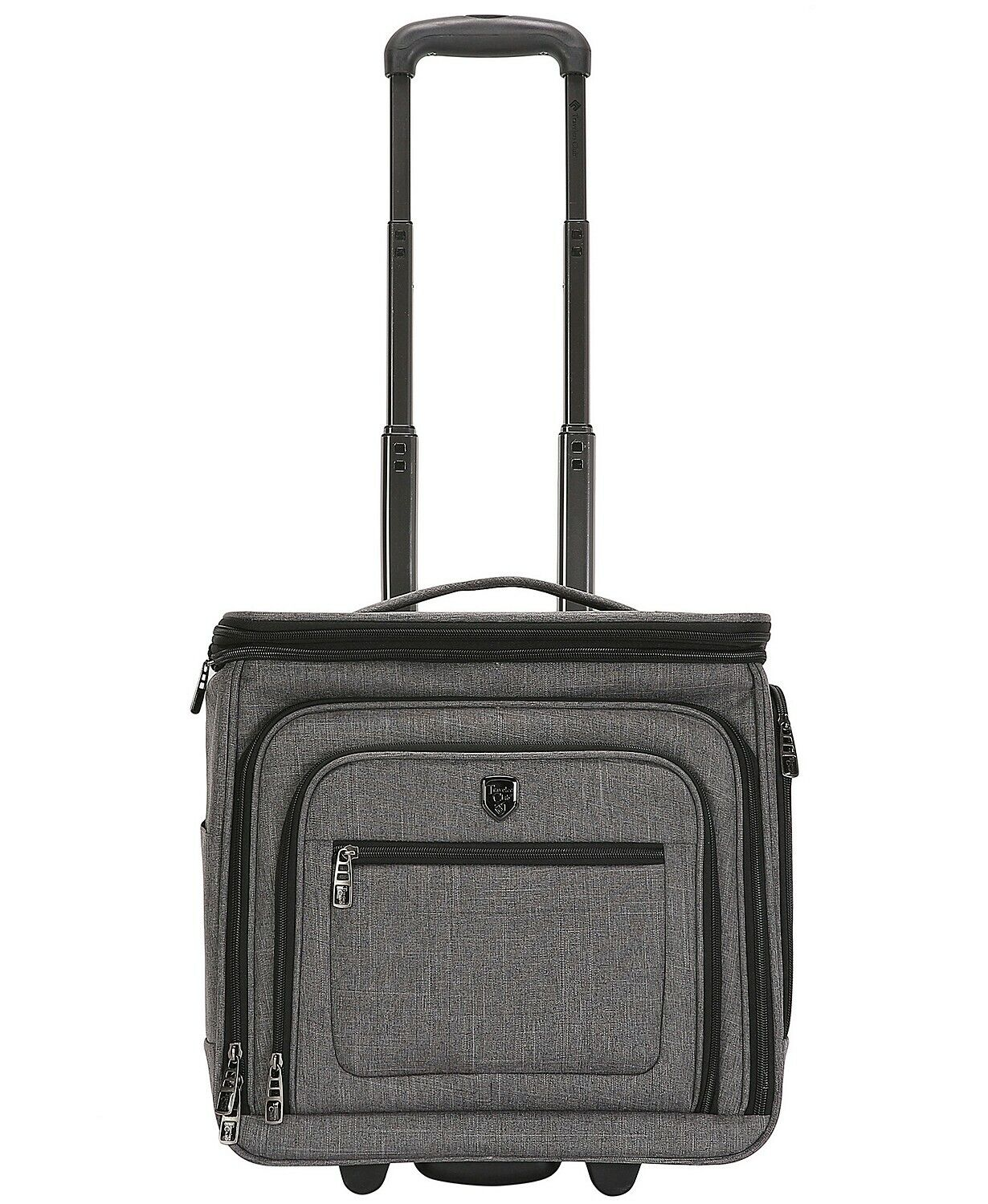 """Travelers Club Luggage 16"""" +53% Extra Volume Top Expandable"""