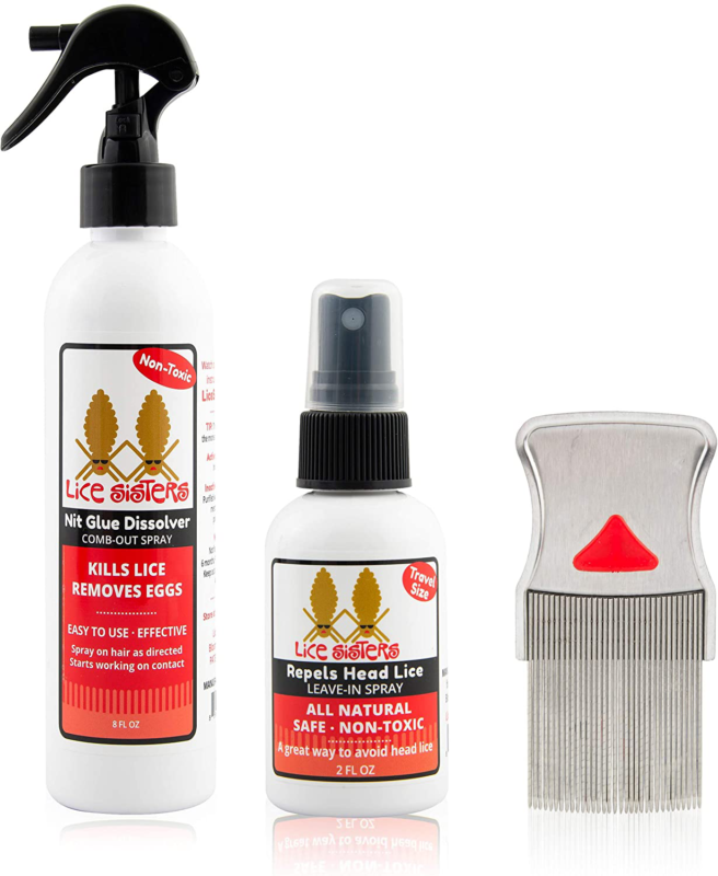 Lice Sisters Lice Treatment and Prevention Kit, Large - Nit