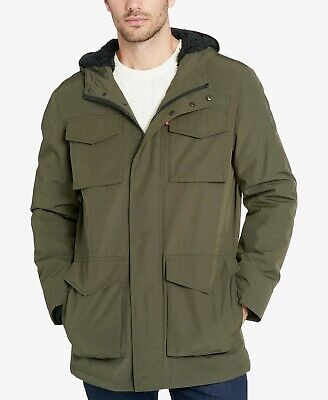 Levi's Men's Jacket Arctic Parka Tall Size Water Resistant Hooded Lining -