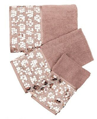 Popular Bath Sinatra Blush Bath Accessories 3-Piece Bath Towel Set - Bath Towel