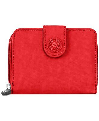 NWT Kipling New Money Wallet Cherry T/Silver $34