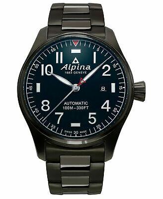 NEW Alpina Startimer Pilot Swiss Automatic Bracelet Watch AL-525NN4TS6B