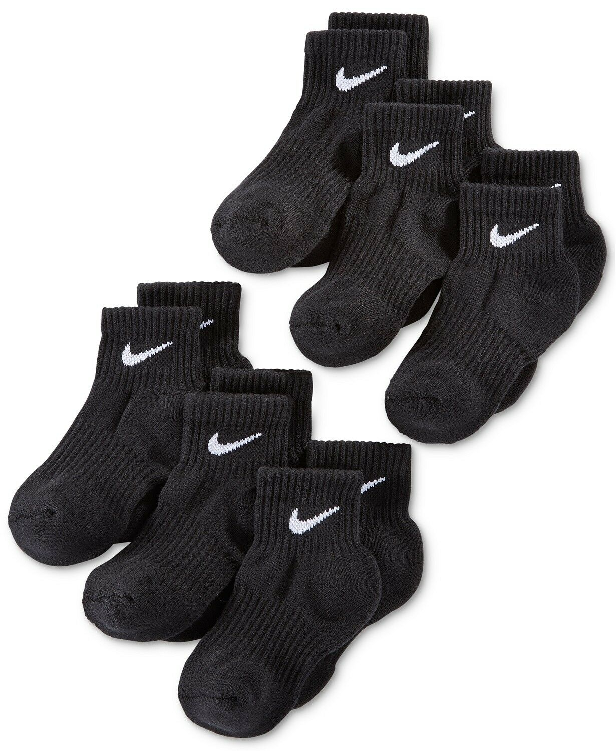 Nike Kids Socks, Boys 6-Pack Quarter Length Socks