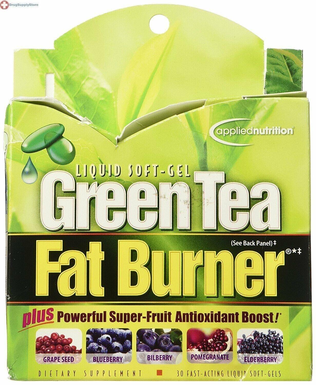 Applied Nutrition Green Tea Fat Burner -- 30 Liquid Soft-Gel
