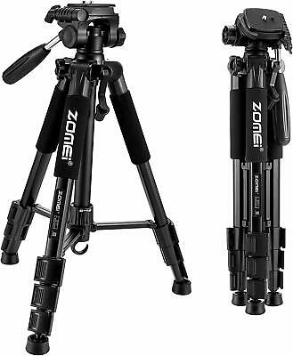 Compact Light Weight Travel Portable Aluminum Camera Tripod for Canon Nikon DSLR