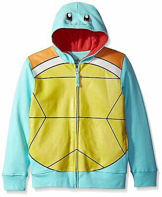 Pokemon Boys' Squirtle Costume Hoodie](Squirtle Costume)