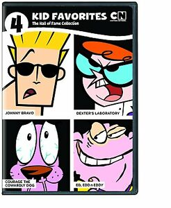 4 KID FAVORITES CARTOON NETWORK: HALL OF FAME - DVD - Region 1