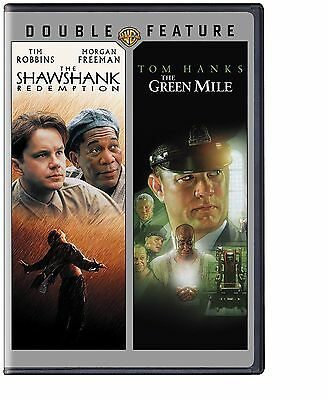 The Green Mile Shawshank Redemption   Double Feature   New Sealed Dvd  Free Ship