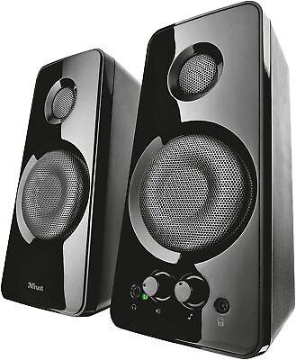 Set speaker 2.0 Trust Tytan per PC da 36 W, Casse audio...