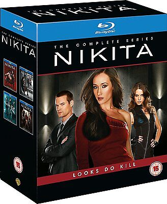 Nikita - The Complete Series [Blu-ray Set, Region Free, Seasons 1 2 3 4] NEW
