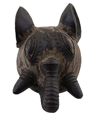 Mask African Pasport Zoomorphic Elephant Earth Cotta Art First 6386 E9B